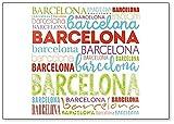 Barcelona - Imán para nevera