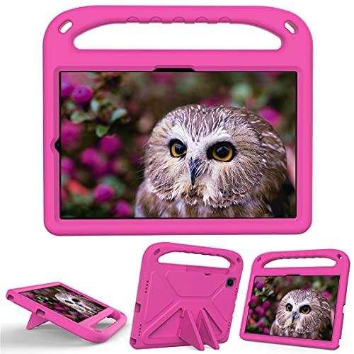 GOZOPO Funda infantil para Samsung Galaxy Tab A7 10.4 (2020), Galaxy Tab S6 Lite 10.4 pulgadas, Funda ultraligera, Resistente a los golpes, Rosa