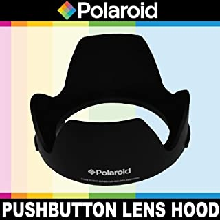 Polaroid Studio Series 58mm Lens Hood With Exclusive Pushbutton Mounting System no more screwing around With Old Fashioned Threaded Hoods Renewed