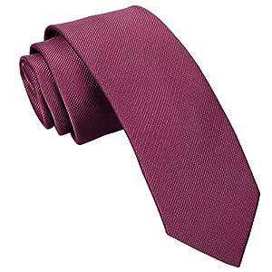 Huertuer La Corbata de los Hombres, Moda Estrecha Corbata Floral ...