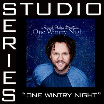One Wintry Night [Studio Series Performance Track]