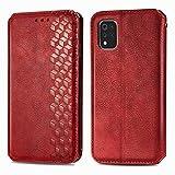 TOPOFU Leather Folio Case for LG K42, Premium PU/TPU Flip