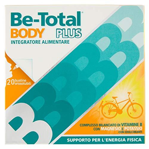 Betotal Body Plus Integratore Alimentare de Vitamine B con Magnesio e Potassio, Confezione da 20 Pezzi