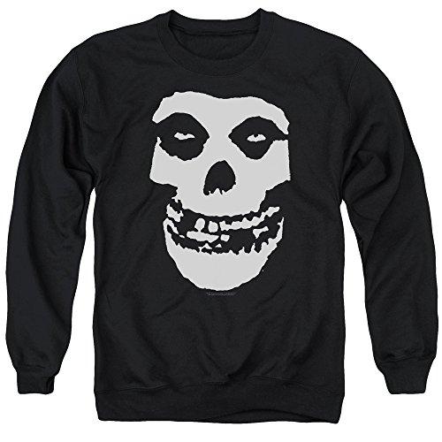 Misfits - Fiend Skull - Adult Crewneck Sweatshirt - Medium Black