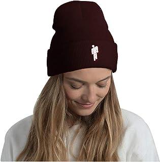 Ceoon Embroidery Billie Eilish Beanie Women Men Knitted Warm Winter Hats