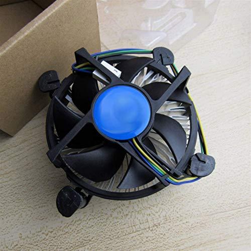 Accesorios de impresora Ventilador de aluminio Core Fit para Intel CPU I3 I5 I7 Socket LGA 1150 1151 1155 1156 C0155 0.2A 12V PN: E97379-003