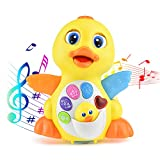 KATUMO Dancing and Singing Duck Toy, Intellectual Musical and Learning Educational Toy, Best Gift for 1 2 3 Year Old Boys and Girls Infant, Baby&Toddler