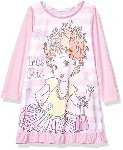 Disney Girls' Big Nightgown, Fancy Nancy Tres Chic, 8
