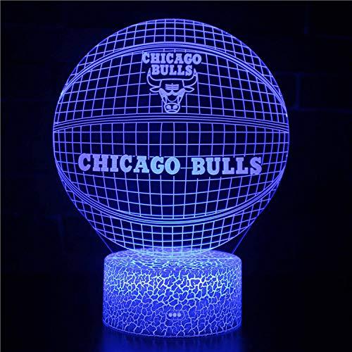 certainPL Rugby-Liebhaber, Magic Decor Art Fußball 3D USB LED Lampe Raum Gadget Requisiten Nachtlicht, Tischlampe Atmosphäre Dekoration, Kinder Geburtstagsgeschenke