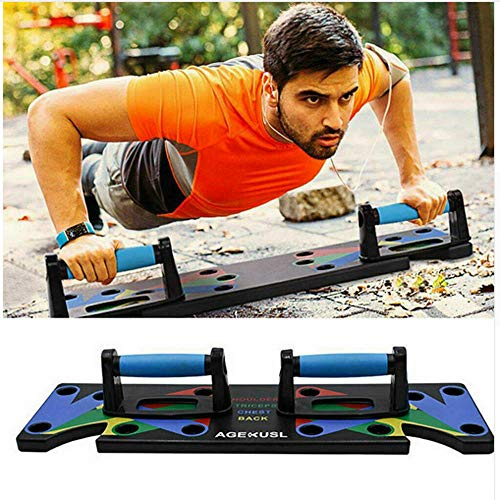 vpuquuz Push Up Bars Soporte Entrenamiento Abdominals Push Up Rack Board Ejercicio Físico Integral