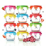 Glass Baby Food Storage Containers...