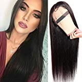 Peluca de pelo humano recto de 10 A, 130% de densidad, VIPbeauty, pelo virgen malasio con...
