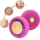 Aparato de belleza facial, Limpiadores y ExfoliadoresAparatos de limpieza y cepillosCepillo de limpieza facial eléctrico Dispositivo de importación para el cuidado de la piel de silicona
