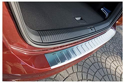 tuning-art L361 Edelstahl Ladekantenschutz für VW Golf Sportsvan 2017-5 Jahre Garantie