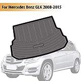PSLER Vehicle Rear Cargo Liner Trunk Tray Floor Mat for Mercedes Benz GLK 2008-2015