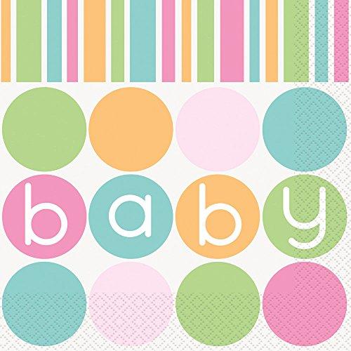 Pastell Babyparty-Zubehör