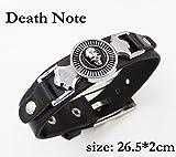 SUNKEE Death Note Cosplay Ryuuku Rivet Pulsera Wristband Figura Juguete Cosplay Props (Death Note Ryuuku)