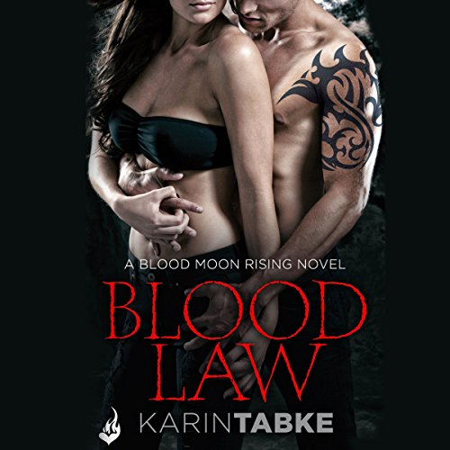 Blood Law audiobook cover art