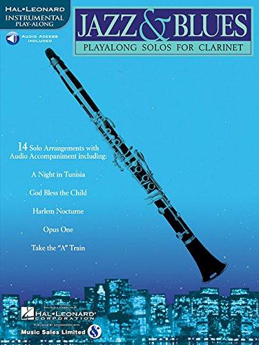 Jazz & Blues: Play-Alongs Solos for Clarinet