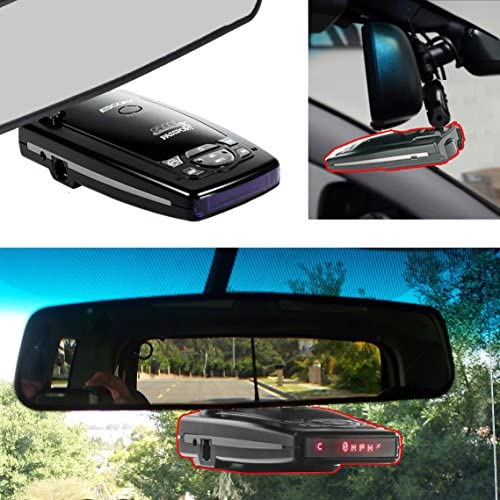 Rearview Mirror Mount for Escort Passport 9500ix 9500i 8500 X50 x70 x80 Solo S2 S3 S4 RD 5110 product image