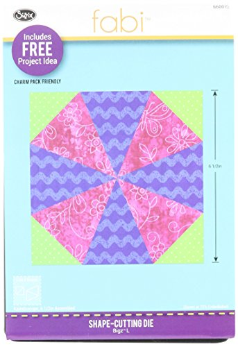 Sizzix, Multi Color, Bigz Die 660073, Kaleidoscope, One Size