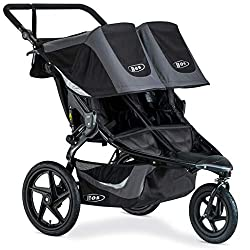 Best All Terrain Double Stroller - BOB Revolution Flex 3.0 Duallie Jogger Stroller