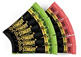 Honey Stinger Plus+ Performance Chews – Variety Pack with Sticker – 12 Count – Caffeinated Energy Source for Any Activity – Stingerita Lime & Mango Melon - 6 of Each Flavor