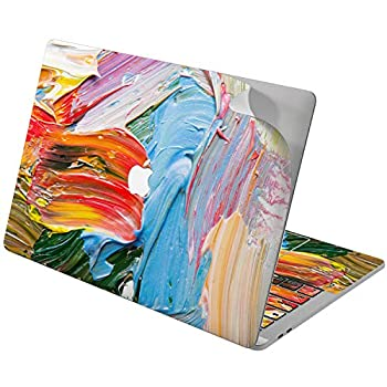 Cavka Vinyl Decal Skin for Apple MacBook Pro 13  2019 15  2018 Air 13  2020 Retina 2015 Mac 11  Mac 12  Art Laptop Protective Design New Cover Print Sticker Paint Colorful Bright Funky Streaks Smears