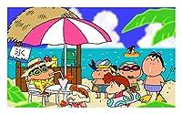 ジグソーパズル Crayon Shin-Chan大人の子供教育ゲーム家族の装飾パズル木製のジグソーパズルパズル300/500/1000/1500ピース、2スタイル (Color : A, Size : 2000P)