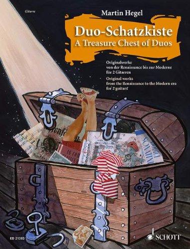 Duo-Schatzkiste: Originalwerke von der Renaissance bis zur Moderne. 2 Gitarren. Spielpartitur.
