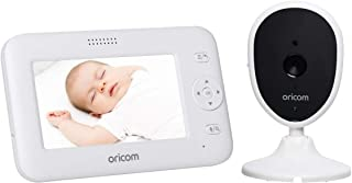 ORICOM Baby Monitor with Camera and Audio - Wireless Infant Security System with Motion & Sound Detection - Includes Night...
