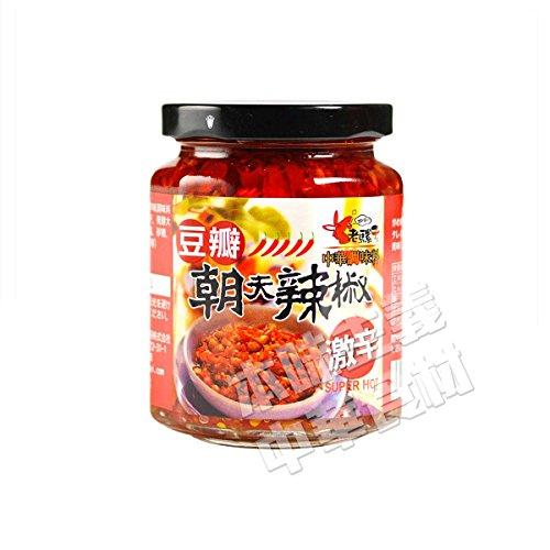 ロウバ 朝天 大豆入り辛味調味料(大) 240g