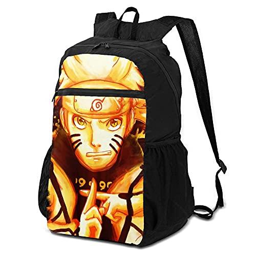 College Rucksack Naruto Backpack Womens Waterproof Multicolor