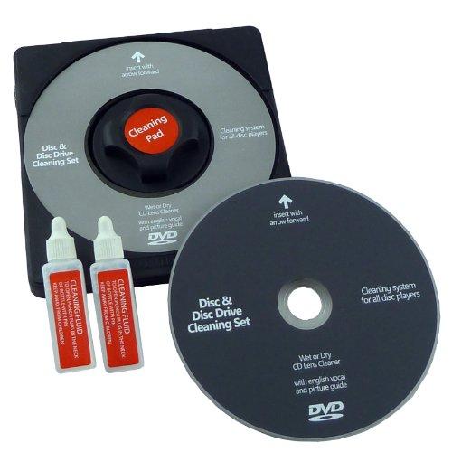 DVD Laser Lens Cleaner - Reinigingsschijf en vloeistof