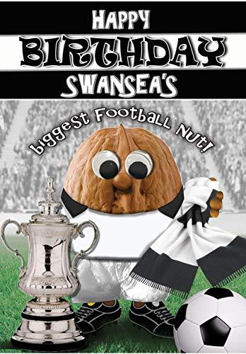 Birthday Card – Swansea City - Football Sports Nut