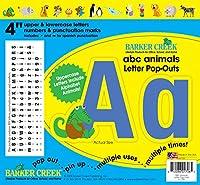 バーカークリークLL-1706 ABC動物レターポップアウト