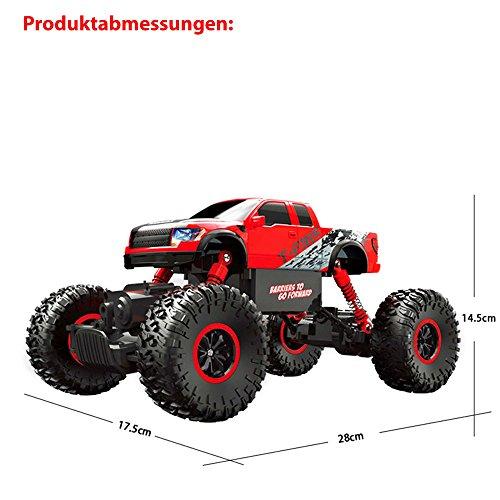 RC Auto kaufen Monstertruck Bild 6: HSP Himoto 2,4Ghz RC Ferngesteuerter Off-Road Monster-Truck Fahrzeug, Crawler, Maßstab 1:16 mit 4WD Antrieb, Truck, Auto, Car, Komplett-Set*