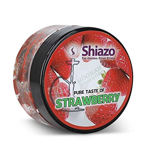Wasserpfeife Shisha Dampfsteine 100gr. Shiazo Erdbeere Strawberry