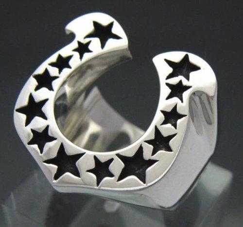 『馬蹄の指輪 ホースシューリング [15号] シルバー925 銀製アクセサリー』のトップ画像