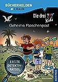 Die drei ??? Kids, Bücherhelden 2. Klasse, Geheime Flaschenpost: Erste Detektivrätsel, Erstleser Kinder ab 7 Jahre