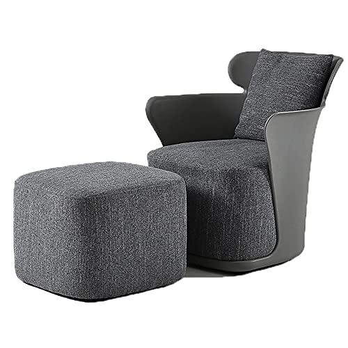Nordic Creative Single Sofa Designer Lazy Tiger Stuhl Home Schlafzimmer Licht Luxus Casual Stoff Verhandlungsstuhl