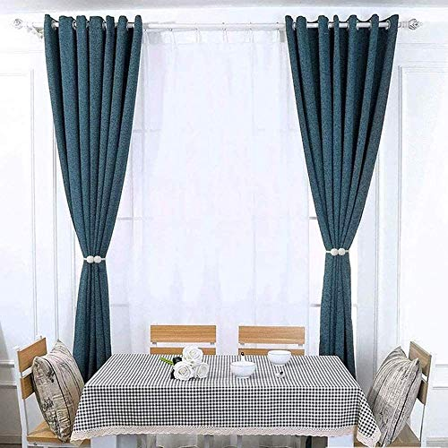 2 Pack Drapes Holdbacks Silver Gray, 16 Inch Long Magnetic Curtain Tiebacks Strong Magnets and Thin Fiber Rope Clips Holders for Office and Home Big Wide or Thick Windows Draperies