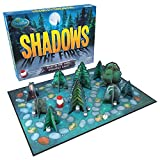 What you get – Shadows in the Forest has high quality components including a Game Board, Mini Lantern (with batteries included), a Glow-in-the-Dark Die, 10 Hiding Places, 6 Shadowlings, and 6 Shadowling masks For 2-7 players aged 8 to adult Clear ins...