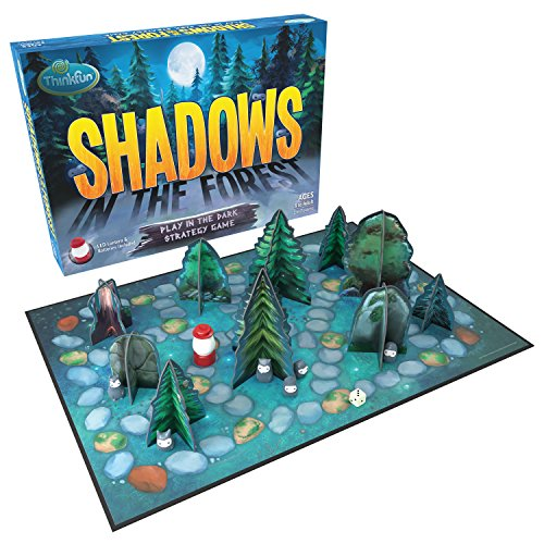 ThinkFun Shadows in the Forest Play in the Dark Board Game for Kids and Families Age 8 and Up - Fun...
