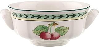 Villeroy & Boch 1022812510 French Garden Fleurence Cream Soup Cup, 12 oz, White/Multicolored