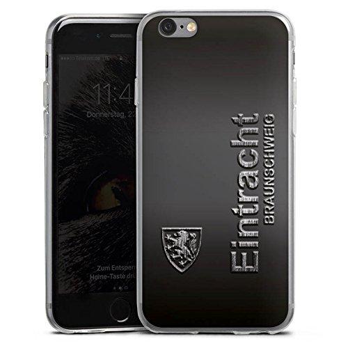 DeinDesign Slim Case Silikon Hülle Ultra Dünn Schutzhülle für Apple iPhone 6s Eintracht Braunschweig Fanartikel Metall