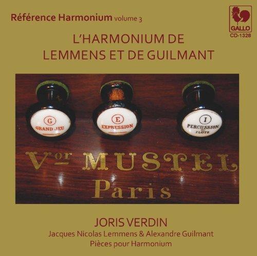 L\'Harmonium de Lemmens et de Guilmant