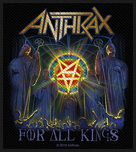Anthrax For All Kings Aufnäher Anthrax Patch Gewebt & Lizenziert !!