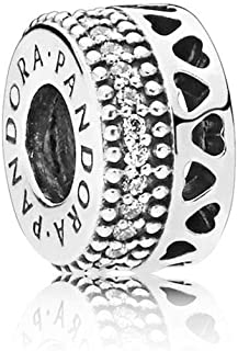 28a58b19532c Amazon.es: separadores de pulsera pandora - Abalorios / Dijes: Joyería