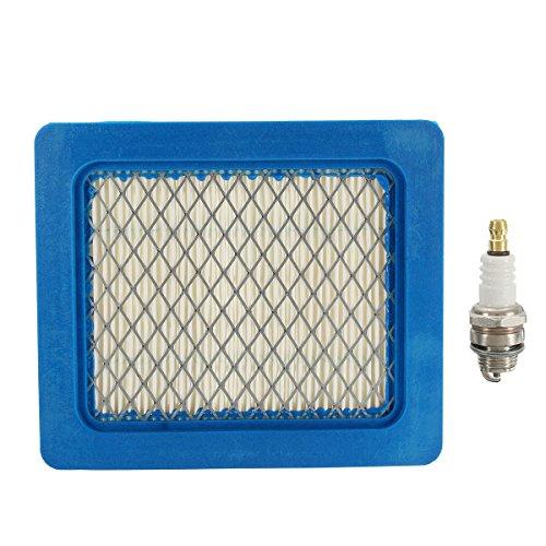 Viviance Plug & Air Filter Service Kit Für Hon-da GCV135 GCV160 GCV190 GC135 GC160 GC190 Hon-da Rasenmäher IZY HRG 415/416/465/466/536 HRS 536 HRX 426/476/536